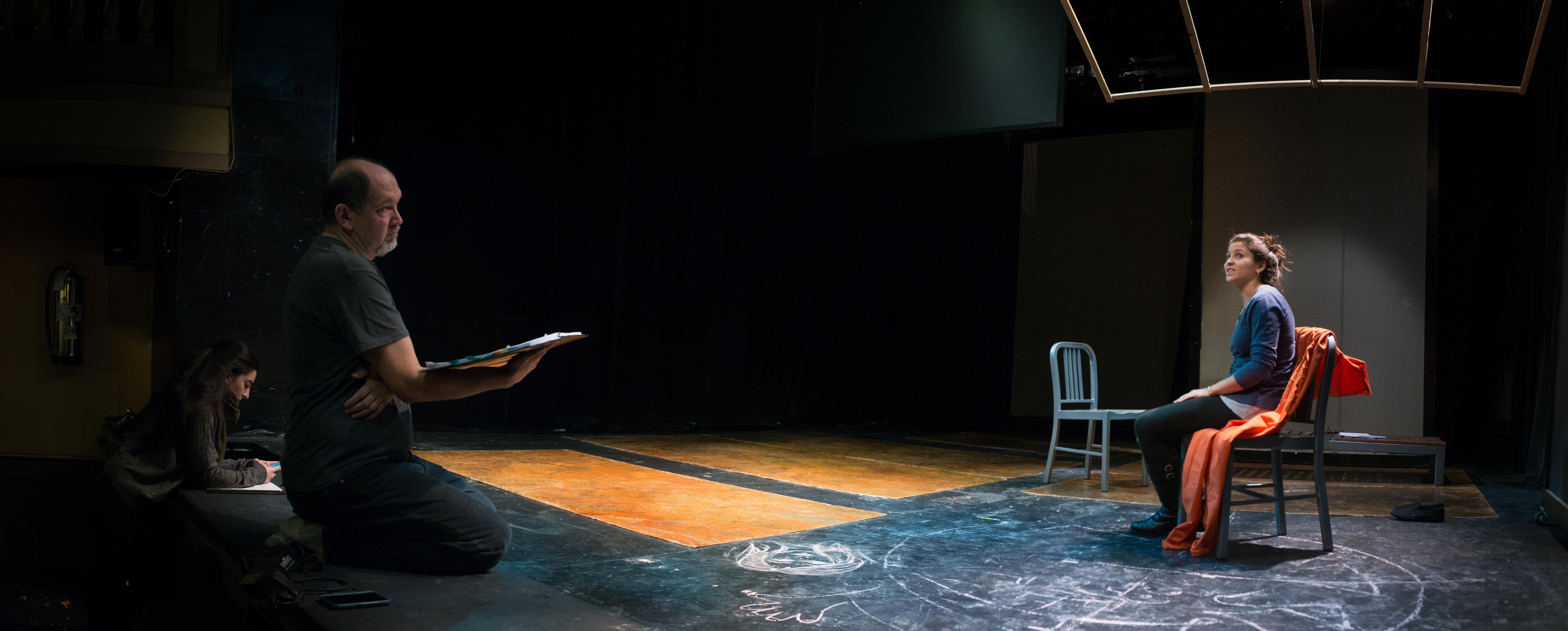 Michael Palma for Repertorio Senorita Rehearal Camerino